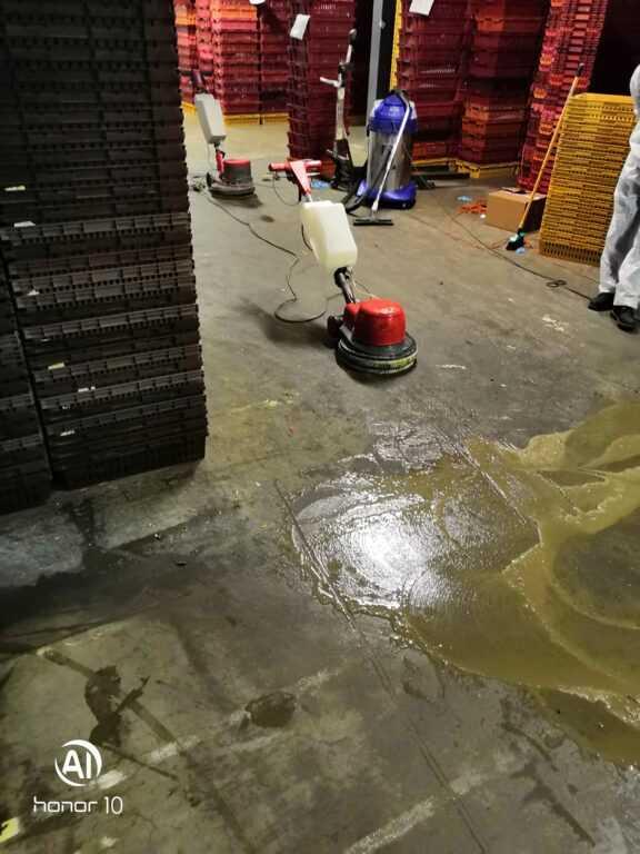 Генеральная уборка на заводе «Сестрорецкий хлебозавод»