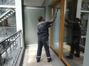 Мойка окон в квартире Конногвардейский бульвар
